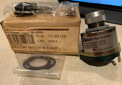 Acs Keyed Ignition Switch A-520-5 Pn 11-03169