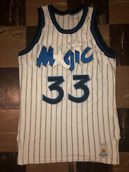 Shaquille O'neal Vtg 90s 1992 Sand Knit Draft Day Team Issue Orland Magic Jersey