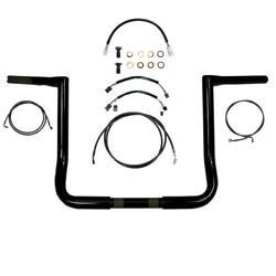 Twin Peaks Style Handlebar And Cable Kit Street Glide Flh 2014-2020 Usa Made
