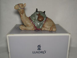 The Camel Lladro Gres Nativity Collection 12456 - 7th Mark