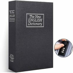 Safe Lock Box Dictionary Diversion Book Safe With Combination Lock