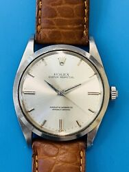 Rolex Oyster Perpetual Special Ref 1018 Oversized Stainless Steel Vintage 341