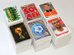 Panini Wc World Cup 2010 South Africa Andndash Lot 2500 Stickers 550/640 Different