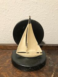 Nuart Creations Sailboat Bookend