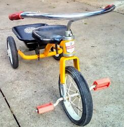 Rare Vintage Coast To Coast Coast King-lift And Dump Childs Ride-on Tricycle
