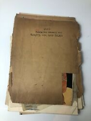 1940s Skip Dolan Australian Gem Comics Archive With Scripts And Sketches Jon Hill