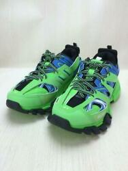 Balenciaga 2018aw Track Trainer Track Trainer 542023 Dad Shoes 27cm Green Us 9