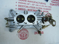67 Corvette 3660 Base Plate Assembly Complete Tri-power 427/435hp 400 3x2