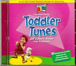 Cedarmont Kids Toddler Tunes Cd Classic Childrens Wheels On Bus Roll Over Six