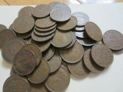 Complete Set Of Canada Small Cents George V And Vi Coins 1932-1941.