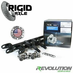 Dana 30 Revolution Gear 97-06 Tj Lj Xj Zj Front Axle Kit W/e-locker Hd U Joints