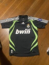 Adidas Real Madrid Soccer Jersey Youth Large 13-14y Champions League