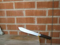Antique 9 Blade Lamson And Goodnow U. S. Navy Carbon Butcher Knife Usa
