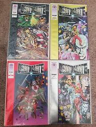 Deathmate Black-yellow-red-september And November Prologue Lot Of 5