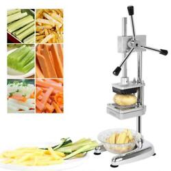 Stainless Steel French Fry Cutter Potato Vegetable Slicer Chopper 3 Blades Dicer $62.99