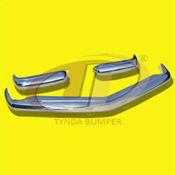 Mercedes Combo Bumper And Full Front Grill W113 1963 -1971 Stainless Steel