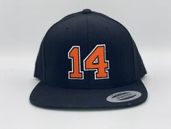 Philadelphia Flyers Sean Couturier 14 Coots Yupoong Snapback Hat.