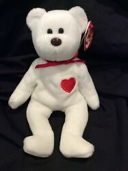 Ty Beanie Baby Valentino Rare Tag And Body Errors Excellent