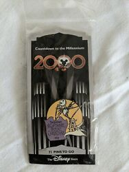 Disney Countdown To The Millennium 2000 Nightmare Before Christmas Jack Pin