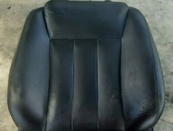 94-96 Infiniti Q45 Driver Left Front Seat Back Cushion Black Leather Shows Wear