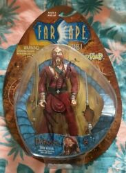 Rare Farscape Ka D'argo Luxan Warrior Signed Action Figure Carded And Sealed