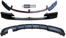 M-tech,m Sport Bumper Front And Rear Lip Spoiler--0------ For Bmw F30 3-series