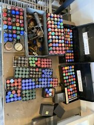 Lot Of Over 300 Delavan Fuel Oil Furnace Nozzles With Case - Nos