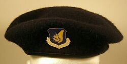 Us Air Force Security Police Pacific Air Forces Crest Badge Beret 7 1/8 57 V2