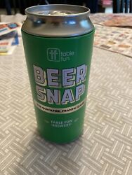 Beer Snap Can Quickfire 80 Drinking Card Game Beer Table Fin Brewery