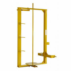 New Tarter Farm And Ranch 3-point Wire Fence Stretcher/unroller - Yellow