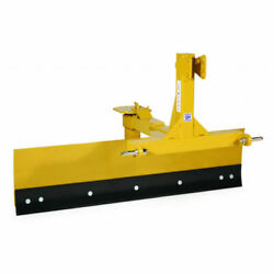 New Tarter Farm And Ranch 3-point 6' Grader Blade - Yellow