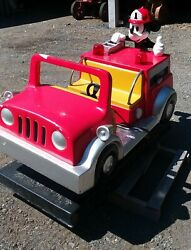 Coin Operated Kiddie Ride - Mickey Mouse- With Sound Working-licensed Character