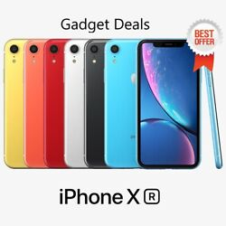 Apple Iphone Xr 4g Lte Unlocked Xr ✔✔all Gb And Colors ✔ Best Deal Iphone