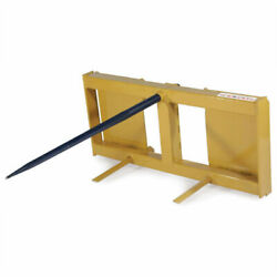 New Tarter Farm And Ranch 3-point Quick Attach Super Spear - Yellow