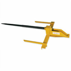 New Tarter Farm And Ranch 3-point Bucket-mount Super Spear - Yellow