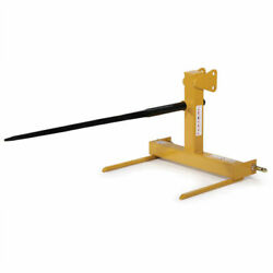 New Tarter Farm And Ranch 3-point Standard Hay Spear - Yellow