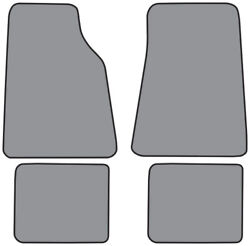 Mats Compatible W/ 1992-2011 Ford Crown Victoria Floor Mat 4pc - Pick Color