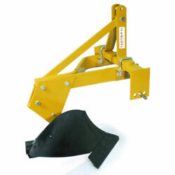 New Tarter Farm And Ranch 3-point 1 Bottom Turning Plow - 14 Yellow