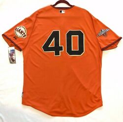 Majestic Authentic 56 3xl San Francisco Giants Madison Bumgarner Coolbase Jersey