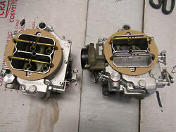 1958-59 60 61 270 Hp Dual Quad Wcfb Carburetors Corvette Ale 2x4 Carter
