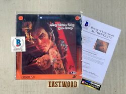 Clint Eastwood Signed Any Which Way You Can Laserdisc Beckett Bas Coa