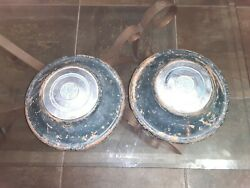 1930and039s Us Royal Tires Hubcaps Ford Chevrolet Dodge Rat Rod