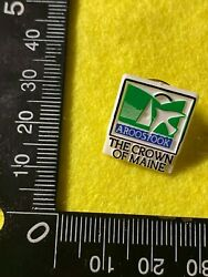 Collectable Pin Back Badge - Aroostock The Crown Of Maine  Bb226