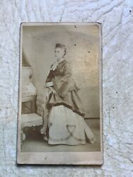Xxx Rare 1800 's African American Lady Cabinet Card Photo Named Pink Saylor