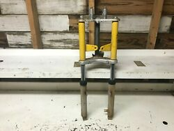 1980 Yamaha Lc50 Champ 50 Front Forks Triple Tree Fork Ears Lc 50