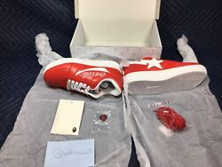 A Bathing Ape Andtimes Coca-cola Collaboration Red Bape Sta Limited Size Us 7