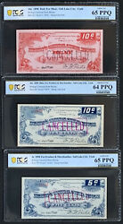 Nqc Ut - Bishopand039s General Store House 1898 5c 10c B 10c R 3 Cancelled Notes