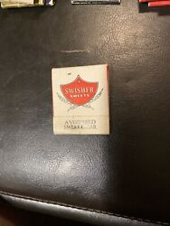Vintage Swisher Sweets Relax Enjoy A Cigar Matchbook Matches