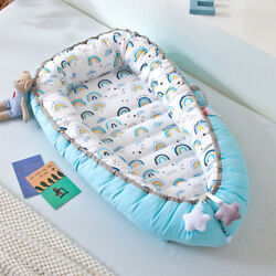 2020 Portable Bed Movable Baby Cradle Bed Washable Newborn Travel Nursing Bed