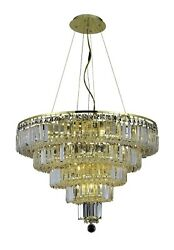 2036 Maxime Collection Chandelier D26in H20in Lt14